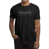 Death, our nation's number one killer - mens-regular-tee - small view