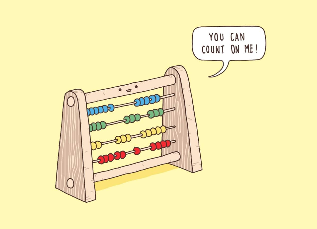 The Ever Reliable Abacus by Jaco Haasbroek | Threadless