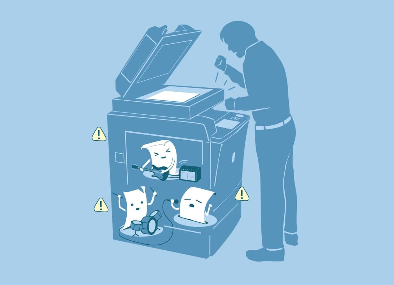 Paper Jam By Nathan Pyle Threadless