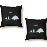 Rodents by Size - throw-pillow - small view