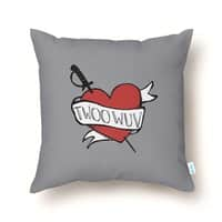 Twoo Wuv - throw-pillow - small view