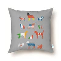 Many Nations Under Dog - throw-pillow - small view