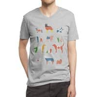 Many Nations Under Dog - vneck - small view