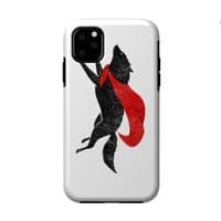 The Red Wolf - double-duty-phone-case - small view