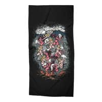 Good vs. Evil - beach-towel - small view