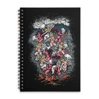 Good vs. Evil - spiral-notebook - small view