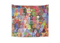 Cyberpunx - indoor-wall-tapestry - small view