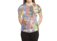 Cyberpunx - womens-sublimated-triblend-tee - small view