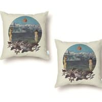 Sensual Migration - throw-pillow - small view