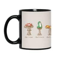Mario Mycology - black-mug - small view
