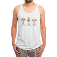 Mario Mycology - mens-triblend-tank - small view