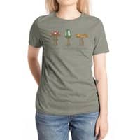 Mario Mycology - womens-extra-soft-tee - small view