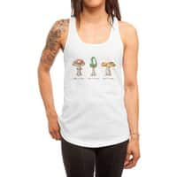 Mario Mycology - womens-racerback-tank - small view