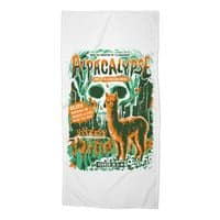 Alpacalypse! - beach-towel - small view