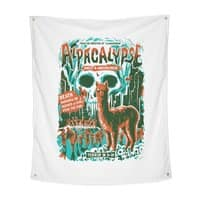 Alpacalypse! - indoor-wall-tapestry-vertical - small view