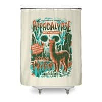 Alpacalypse! - shower-curtain - small view