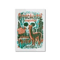 Alpacalypse! - vertical-mounted-aluminum-print - small view