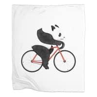 Panda Fixie - blanket - small view