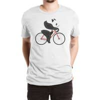 Panda Fixie - mens-extra-soft-tee - small view