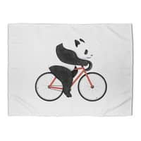 Panda Fixie - rug-landscape - small view