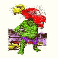 Hulk in the City - small view