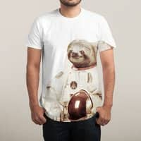 Astronaut Sloth - mens-sublimated-tee - small view
