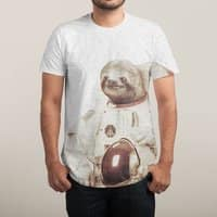 Astronaut Sloth - mens-sublimated-triblend-tee - small view