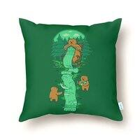 Knitting - throw-pillow - small view