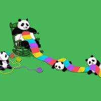 Panda Weaving - small view