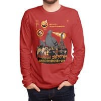 PIGEONZILLA omg! - mens-long-sleeve-tee - small view