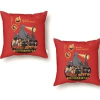 PIGEONZILLA omg! - throw-pillow - small view