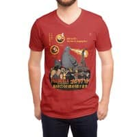 PIGEONZILLA omg! - vneck - small view