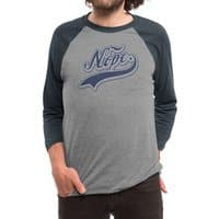 NOPE. - triblend-34-sleeve-raglan-tee - small view