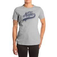 NOPE. - womens-extra-soft-tee - small view