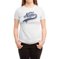 NOPE. - womens-triblend-tee - small view