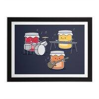 Jam Session - black-horizontal-framed-print - small view