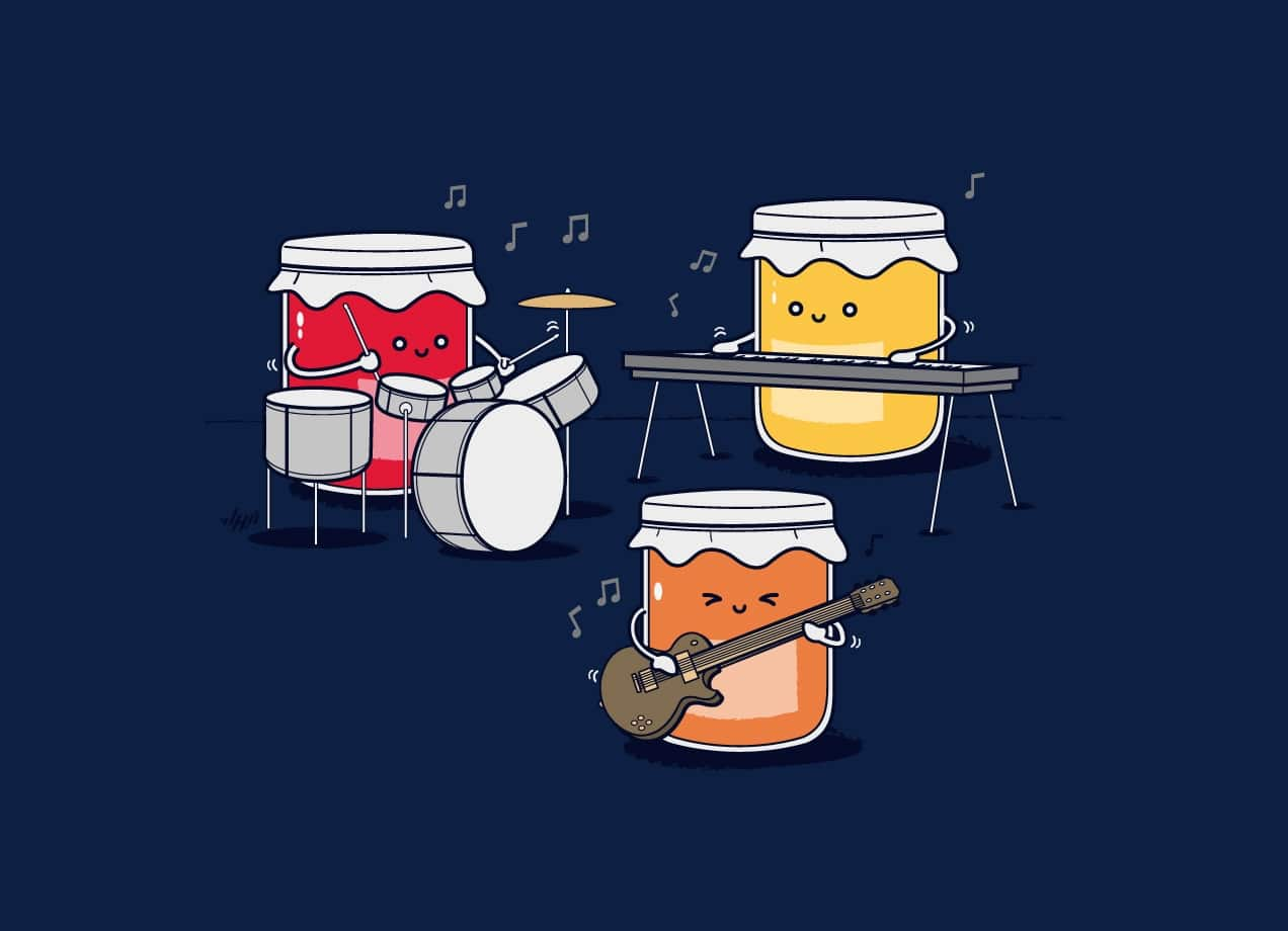 Jam Session By Nabhan Abdullatif Threadless