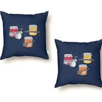 Jam Session - throw-pillow - small view