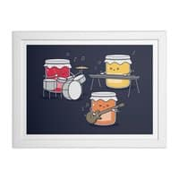 Jam Session - white-horizontal-framed-print - small view
