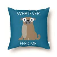 The Pugly Truth - throw-pillow - small view