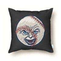 Angry Baseball - throw-pillow - small view