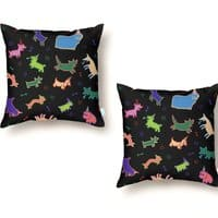 Party Crasher - throw-pillow - small view