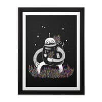 The Motive - black-vertical-framed-print - small view