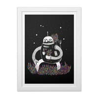 The Motive - white-vertical-framed-print - small view