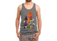 The Mountains are Calling - mens-triblend-tank - small view