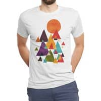 The Mountains are Calling - mens-triblend-tee - small view