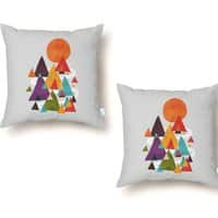 The Mountains are Calling - throw-pillow - small view