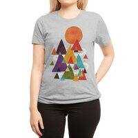 The Mountains are Calling - womens-regular-tee - small view