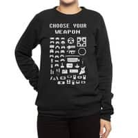 Choose Your Weapon: Gamers - crew-sweatshirt - small view