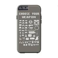 Choose Your Weapon: Gamers - double-duty-phone-case - small view